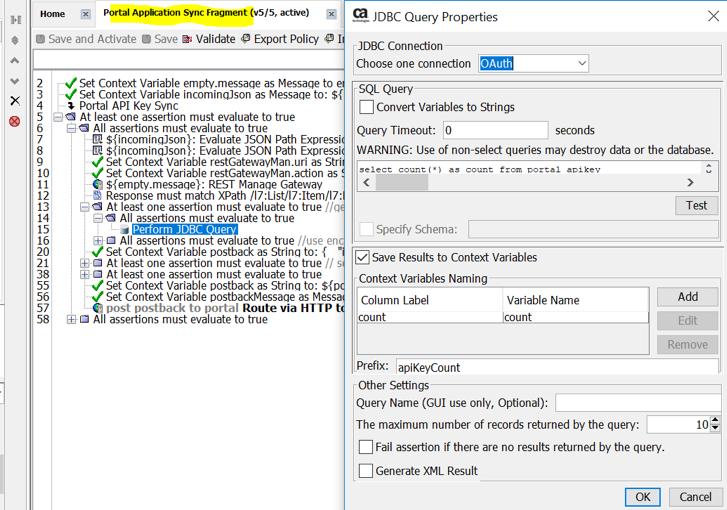 Portal Application Sync Fragment