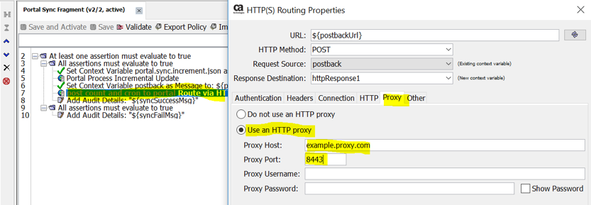HTTP Routing Properties