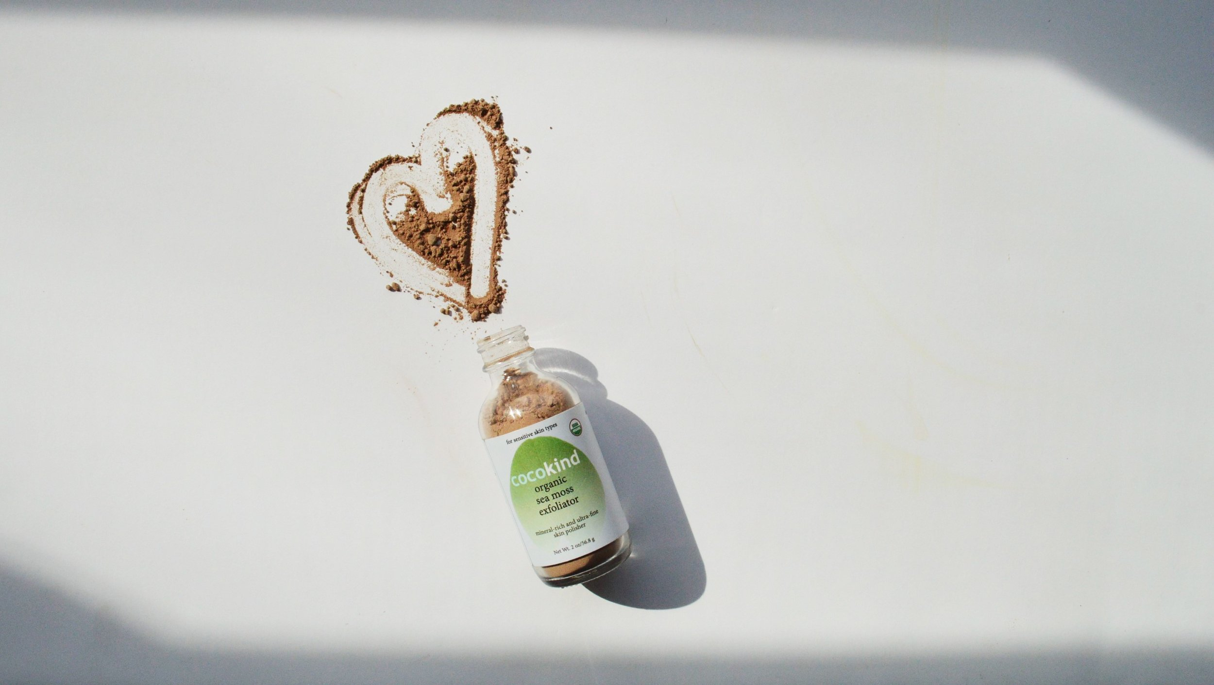 How to Exfoliate with the Cocokind Organic Sea Moss Exfoliator