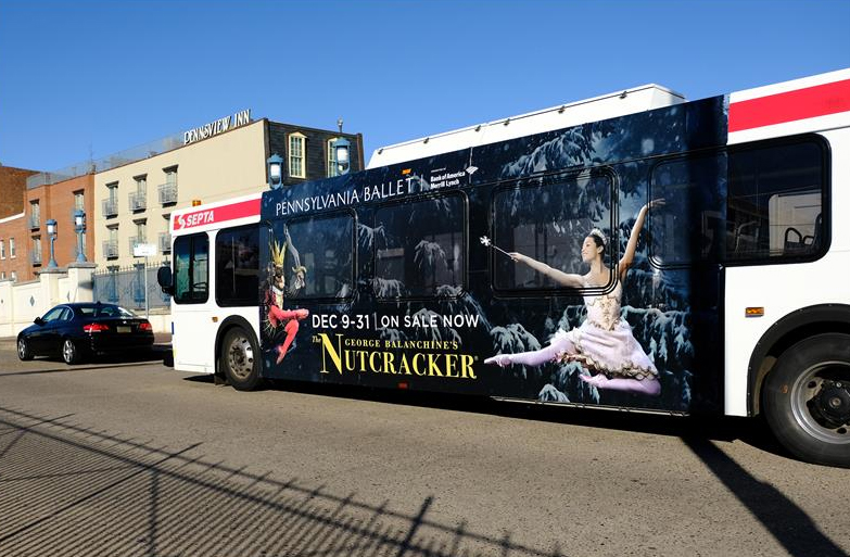 Bus Ad, Philadelphia