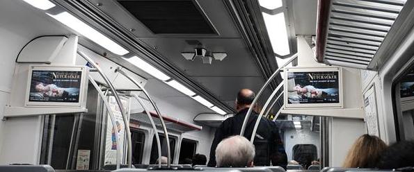 Silverliner SEPTA car advertisment