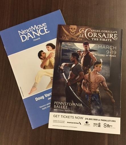 Print Ad in Next Move Dance Magazine