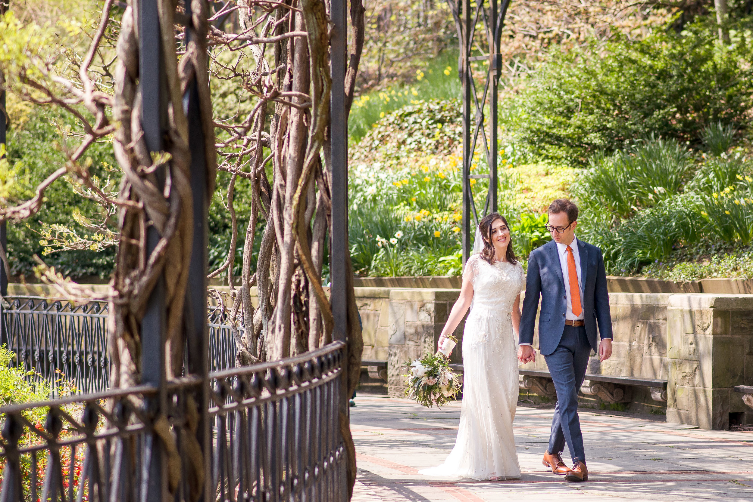 Conservatory Garden Wedding Portrait.jpg