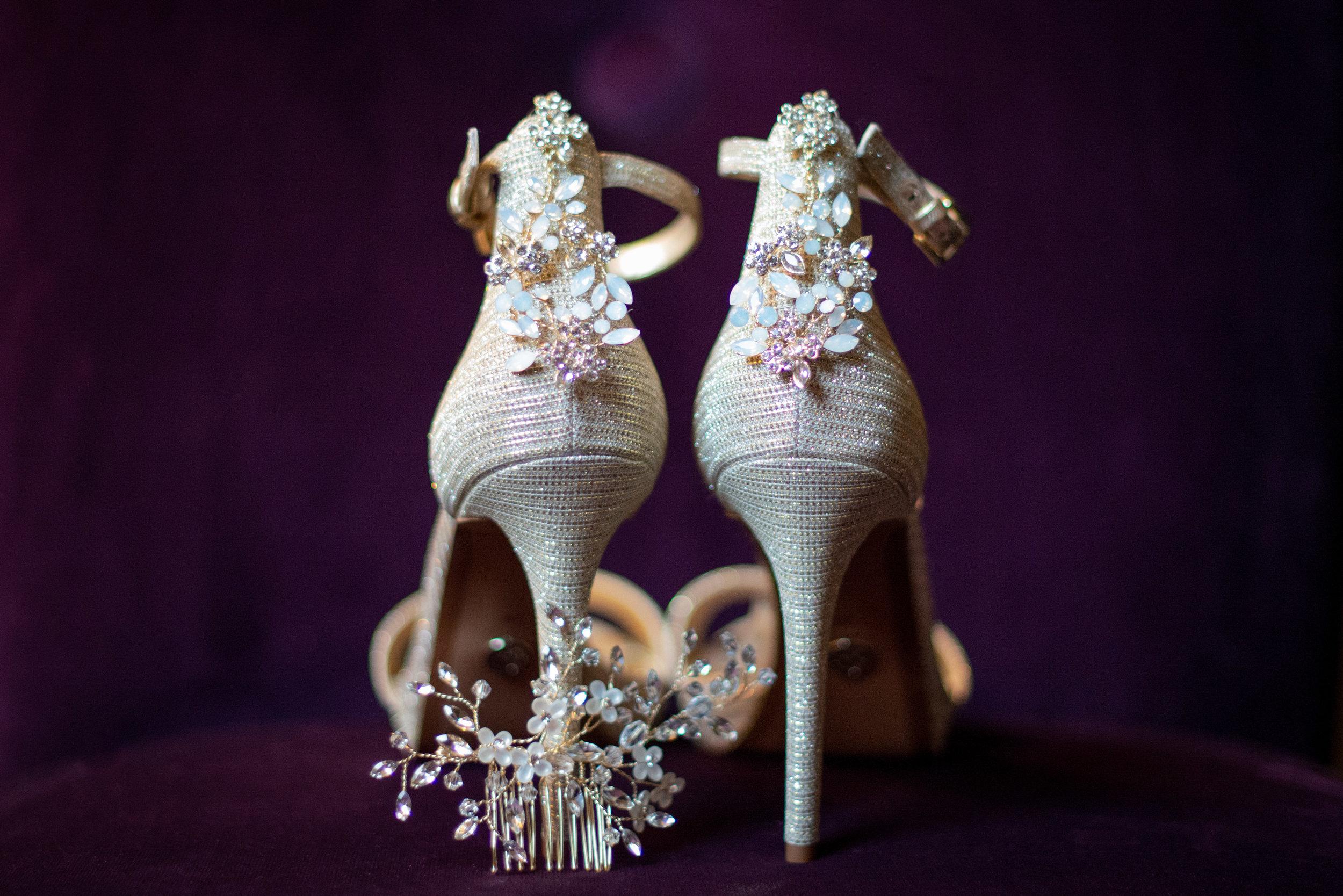 Wedding Shoes Detail