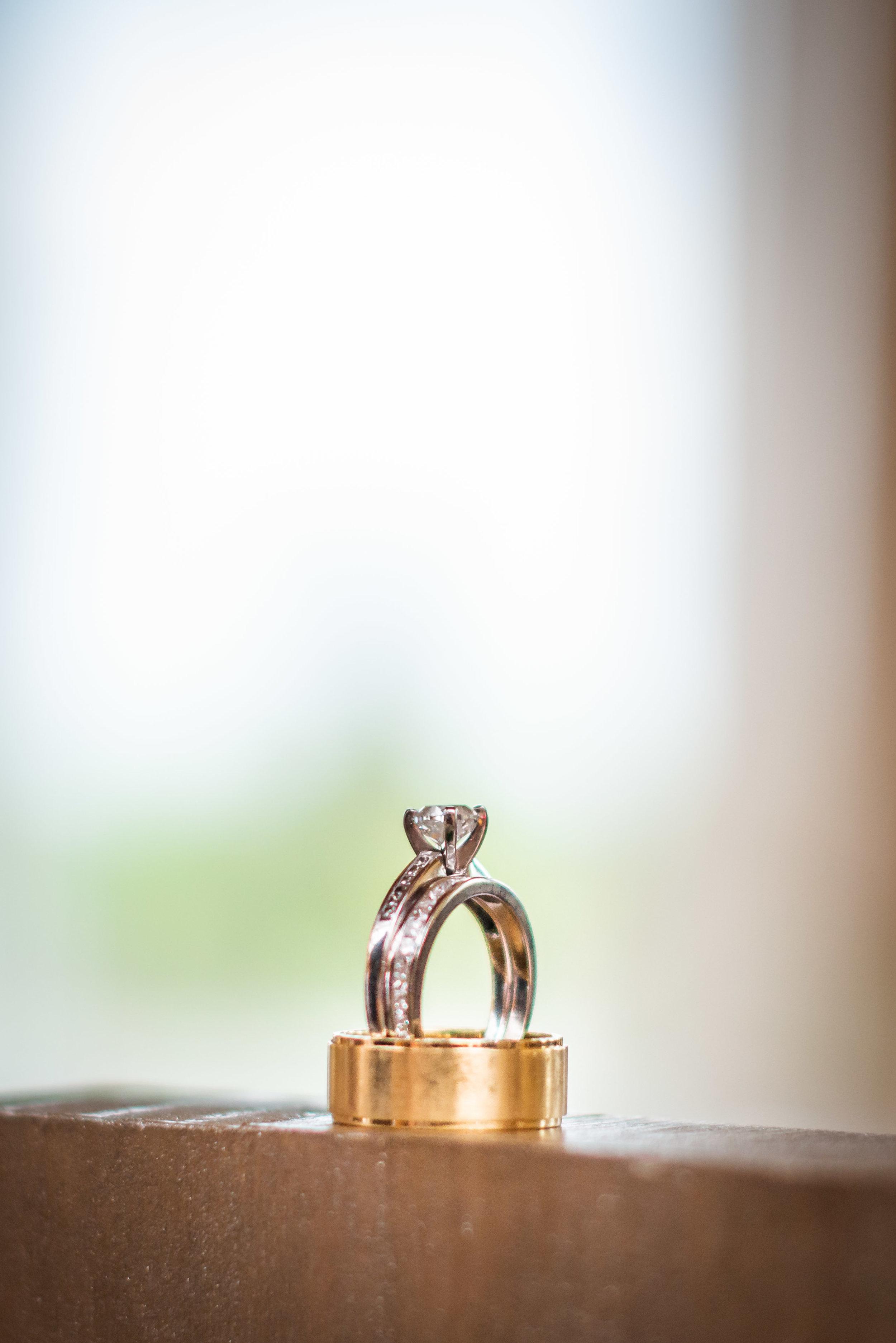 Ring detail photo