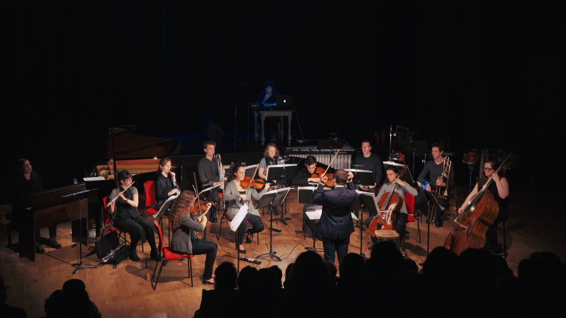 ALDAorchestra. 6 December 2016. The Old Market, Brighton, UK. Conductor: Helgi R. Ingvarsson.