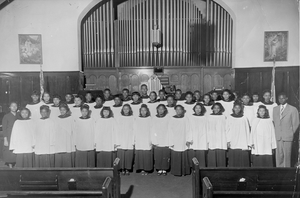 Collegiate Choir 1948-49