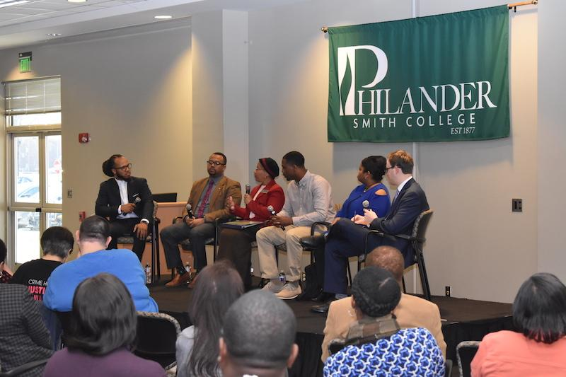 Panelists discuss ideas for reformation and the impact citizens can have on policy-making.