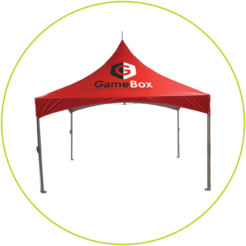 Custom Printed Vinyl Tents