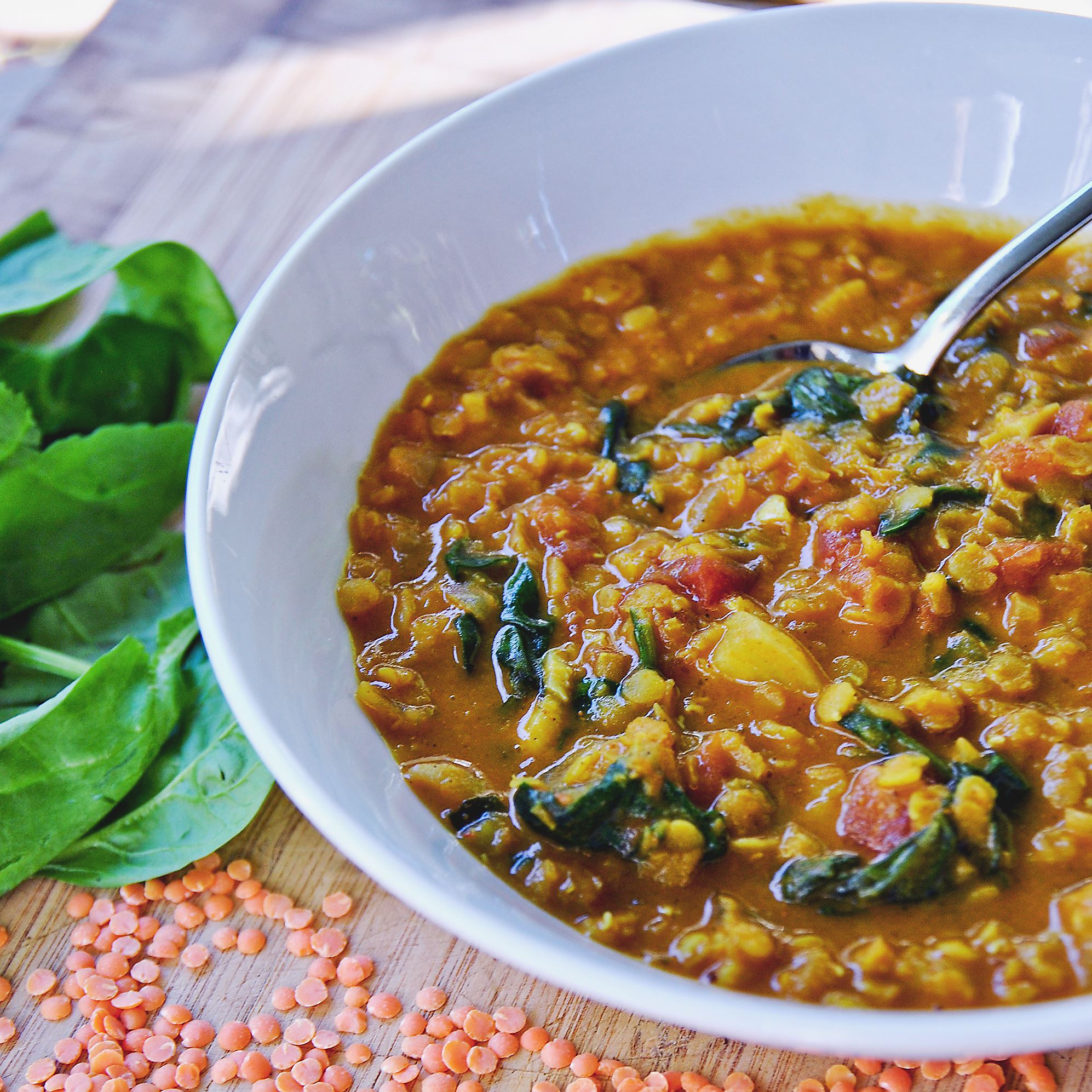 Lentils - Grains also can be used as protein
