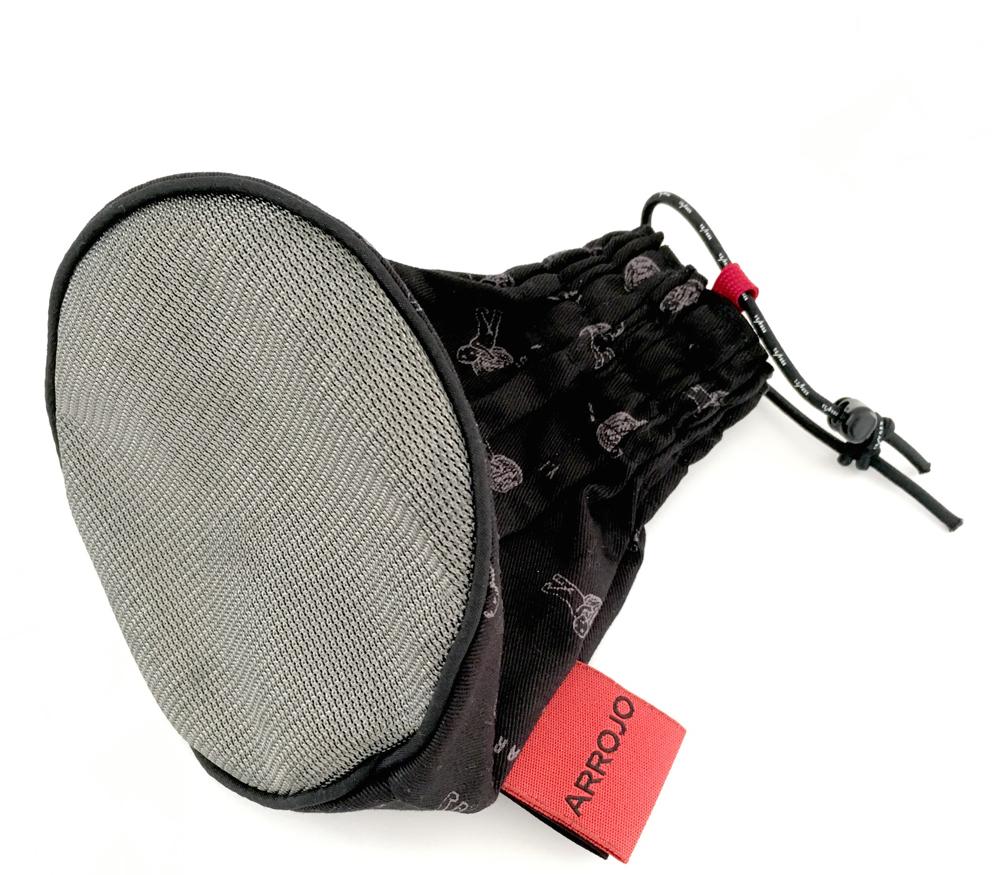 ARROJO branded metal mesh diffuser