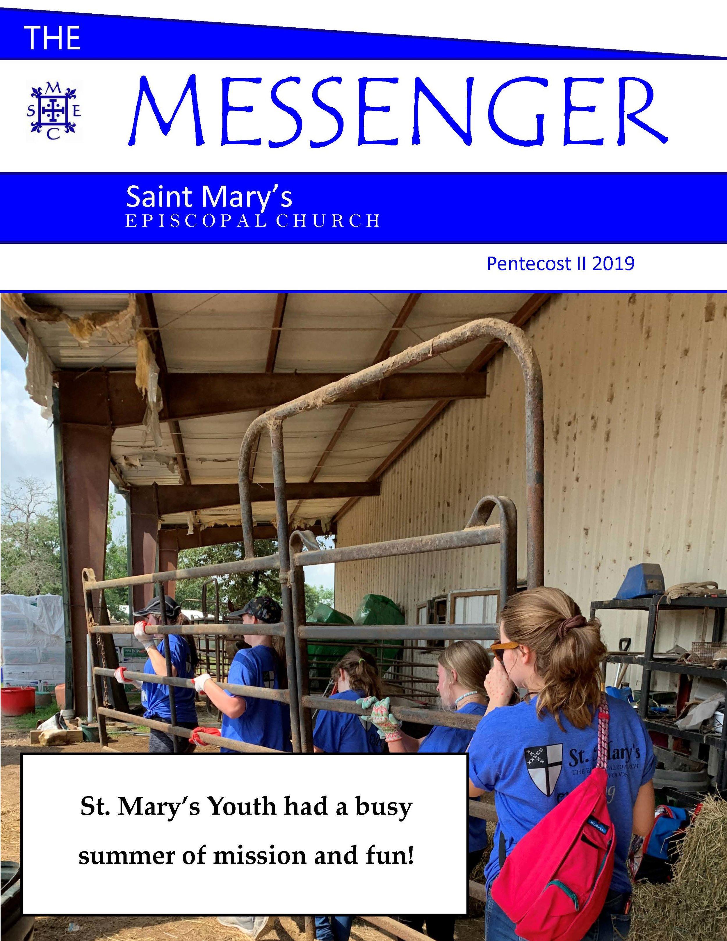 Messenger Pentecost II 2019 Cover.jpg