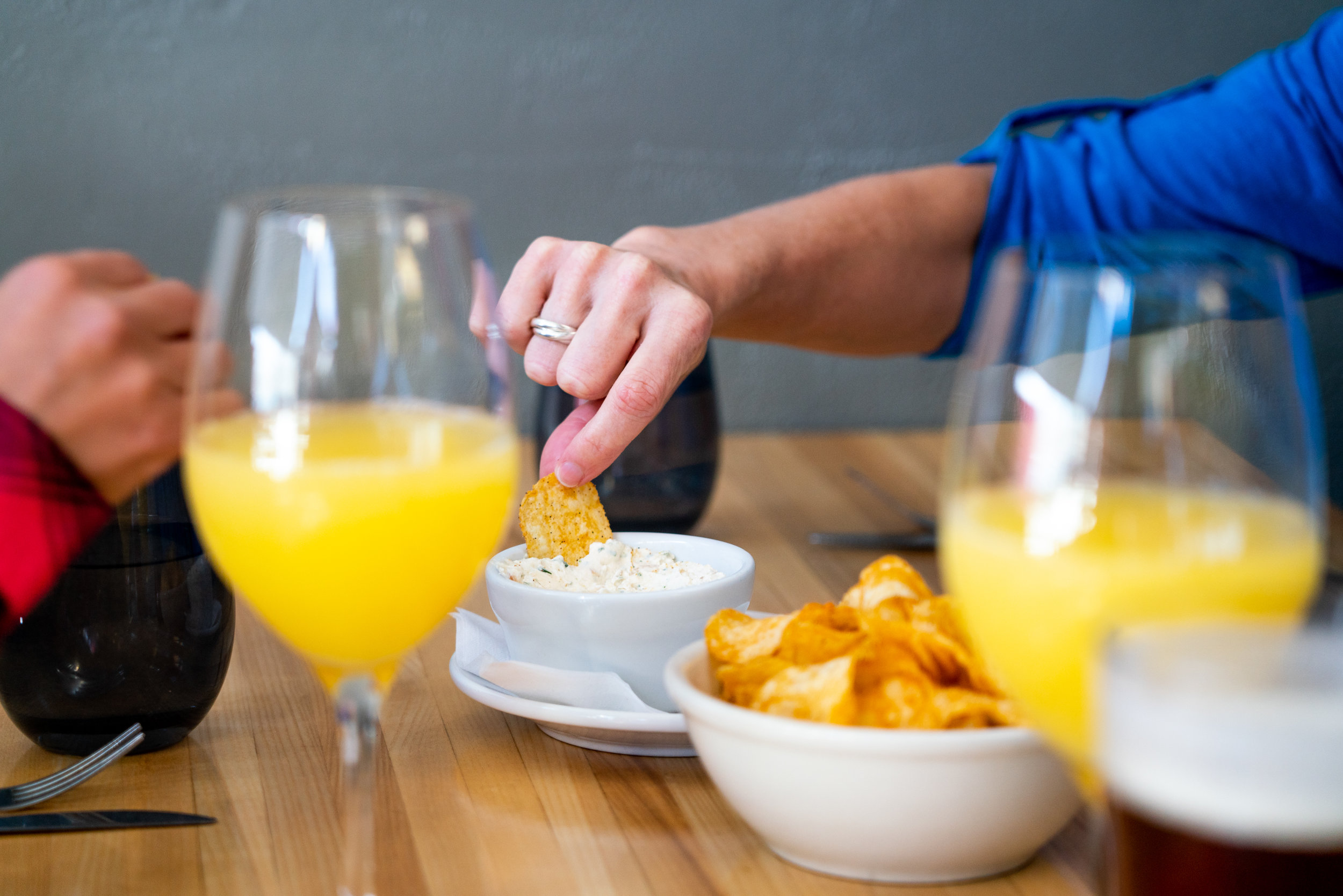 Our mimosas are bottomless. - Weekends at The Bird just got better! Enjoy $10 Bottomless Mimosas and Bloody Marys with your meal.