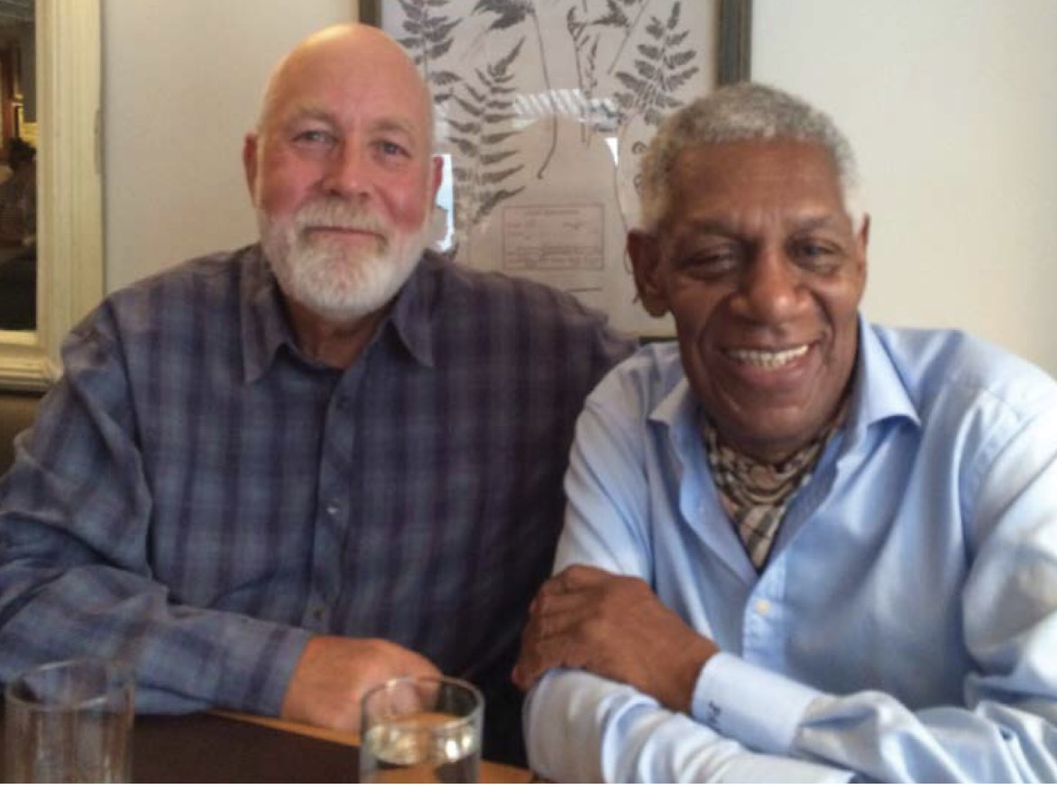 a. Michael Marzolla and new York artist Peter a. bradley:  Friends since 1974, Peter Bradley was recently Artist-in-Residence at the Squire Foundation. Michael was instrumental in arranging it.