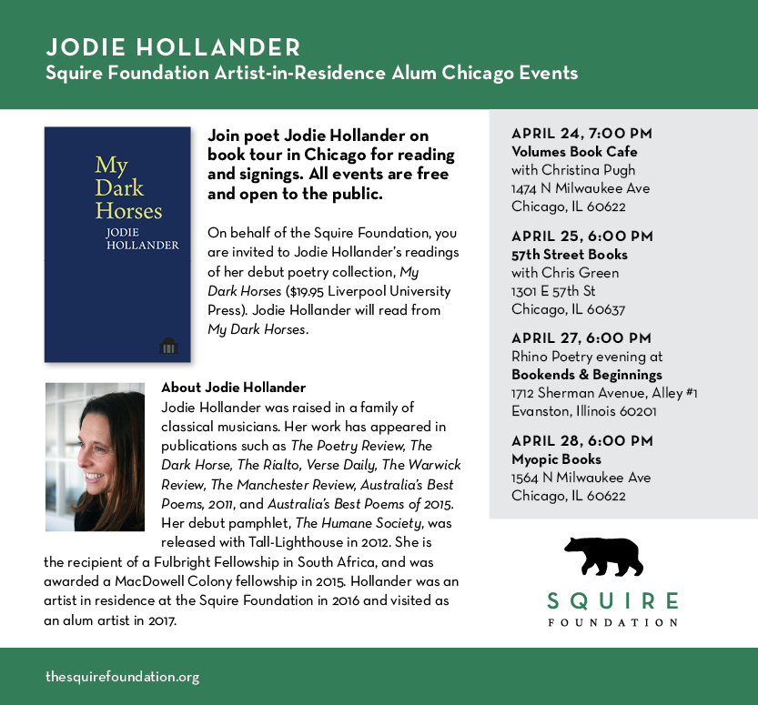 Jodie Chicago readings