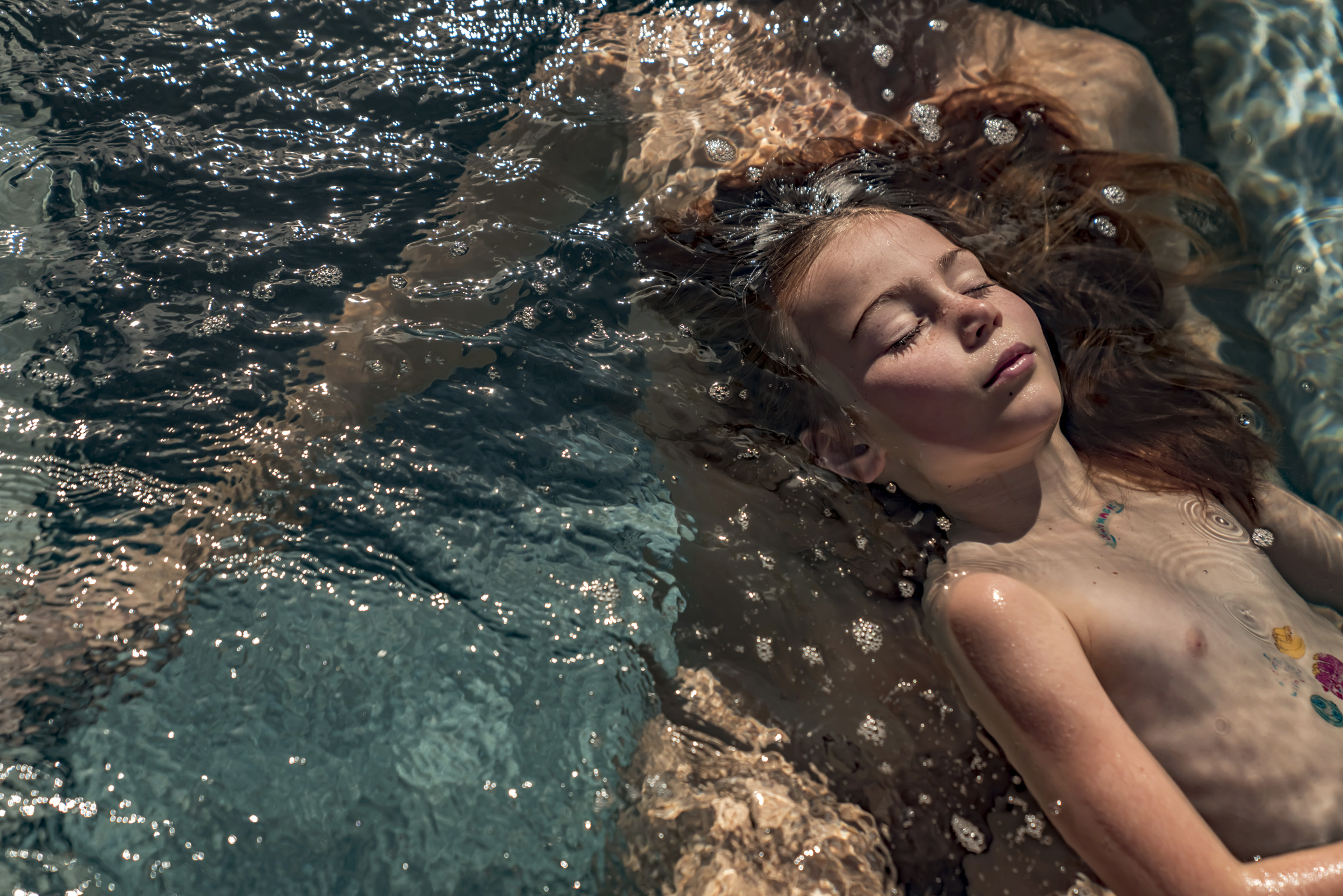 """Heather and Rowan"" from  The Shower Series  shot at Via Maria Villa."