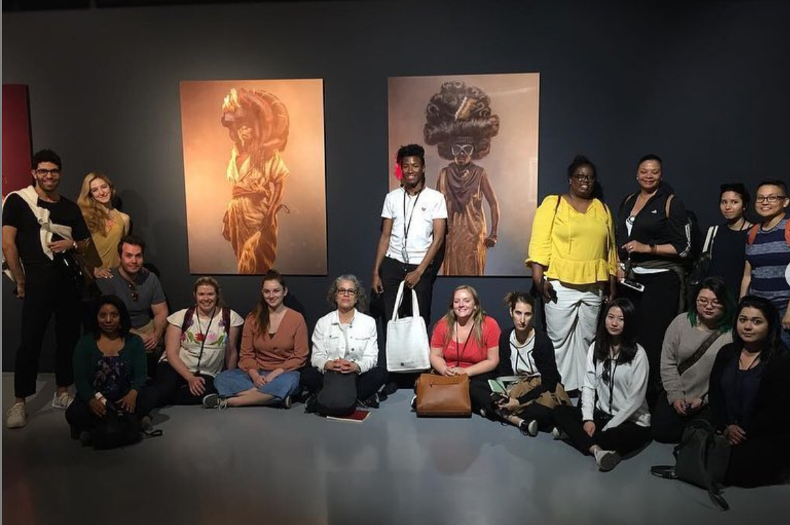 Image from the Sotheby's Institute of Art March, 2019 Field Study trip to Cape Town, South Africa.