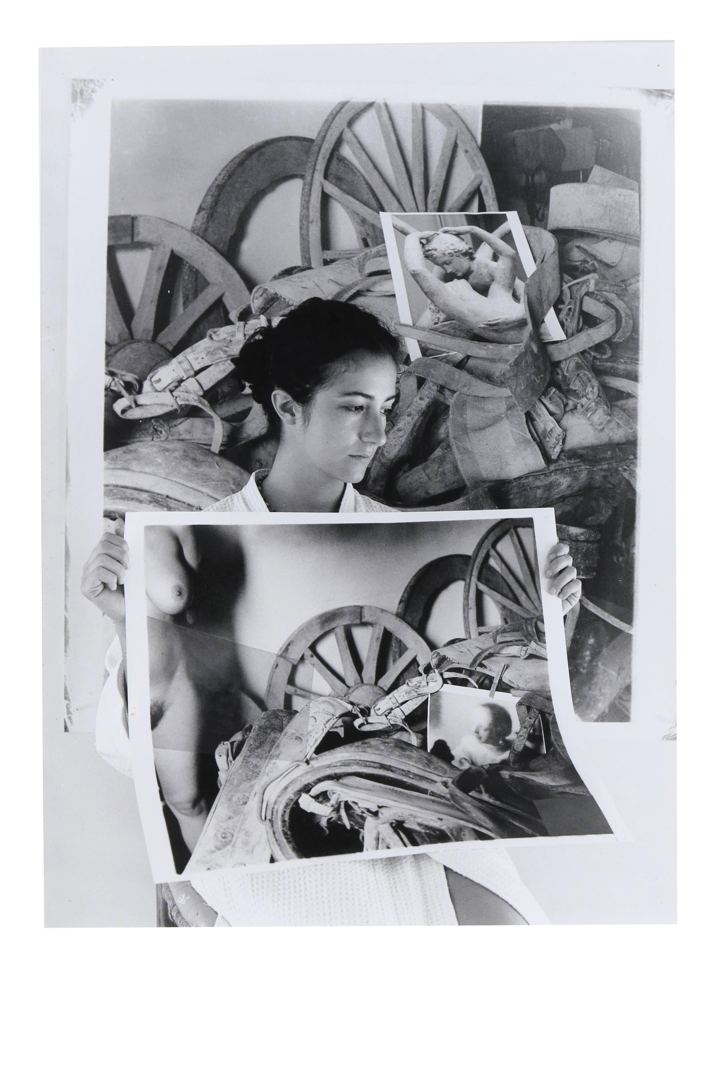 Carlotta at Castel Ruggero II  2014  gelatin silver print  20 x 16 inches