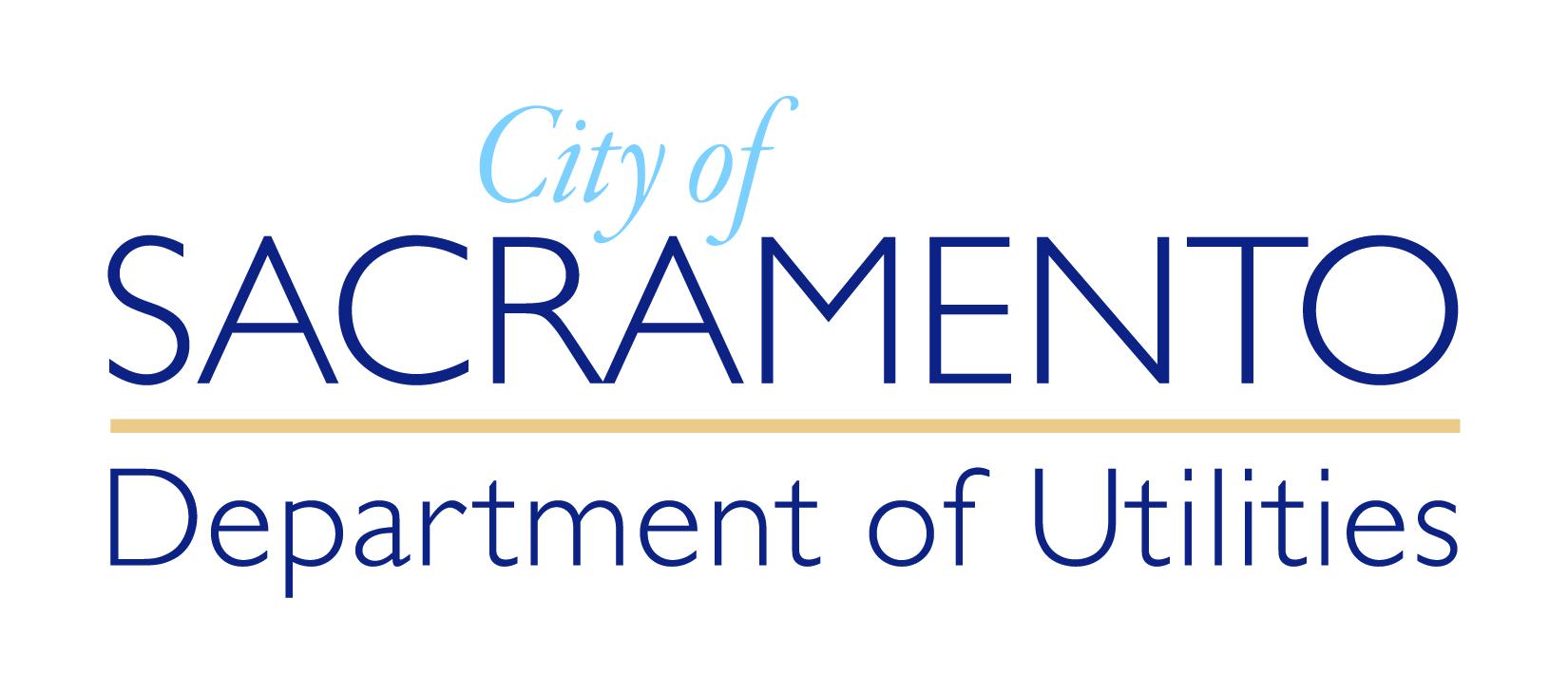 City of Sacramento Department of Utilities Logo.jpg