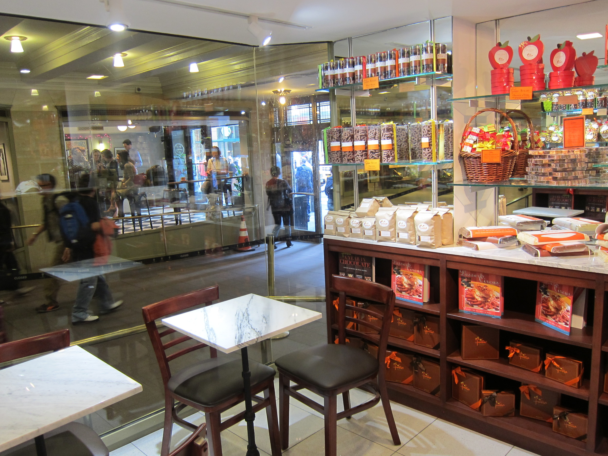 Jacques Torres Chocolate.  NYC