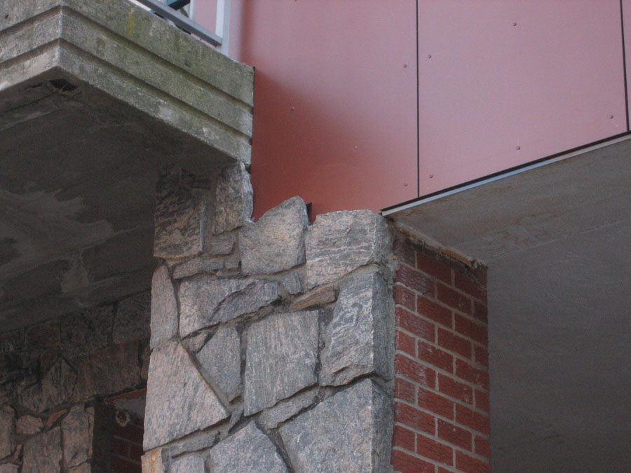 Exterior detail.