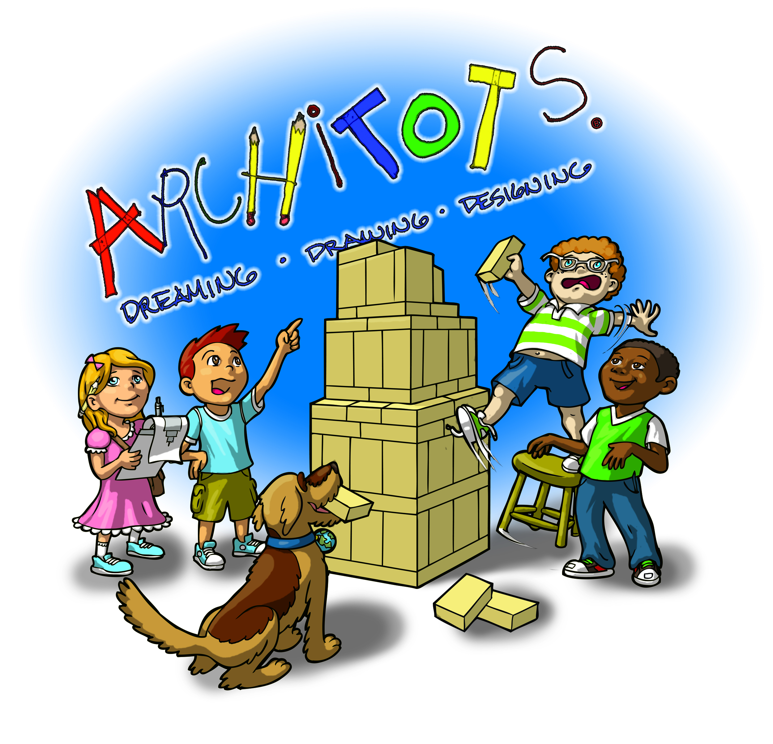 The Architots.  Animated series for children.