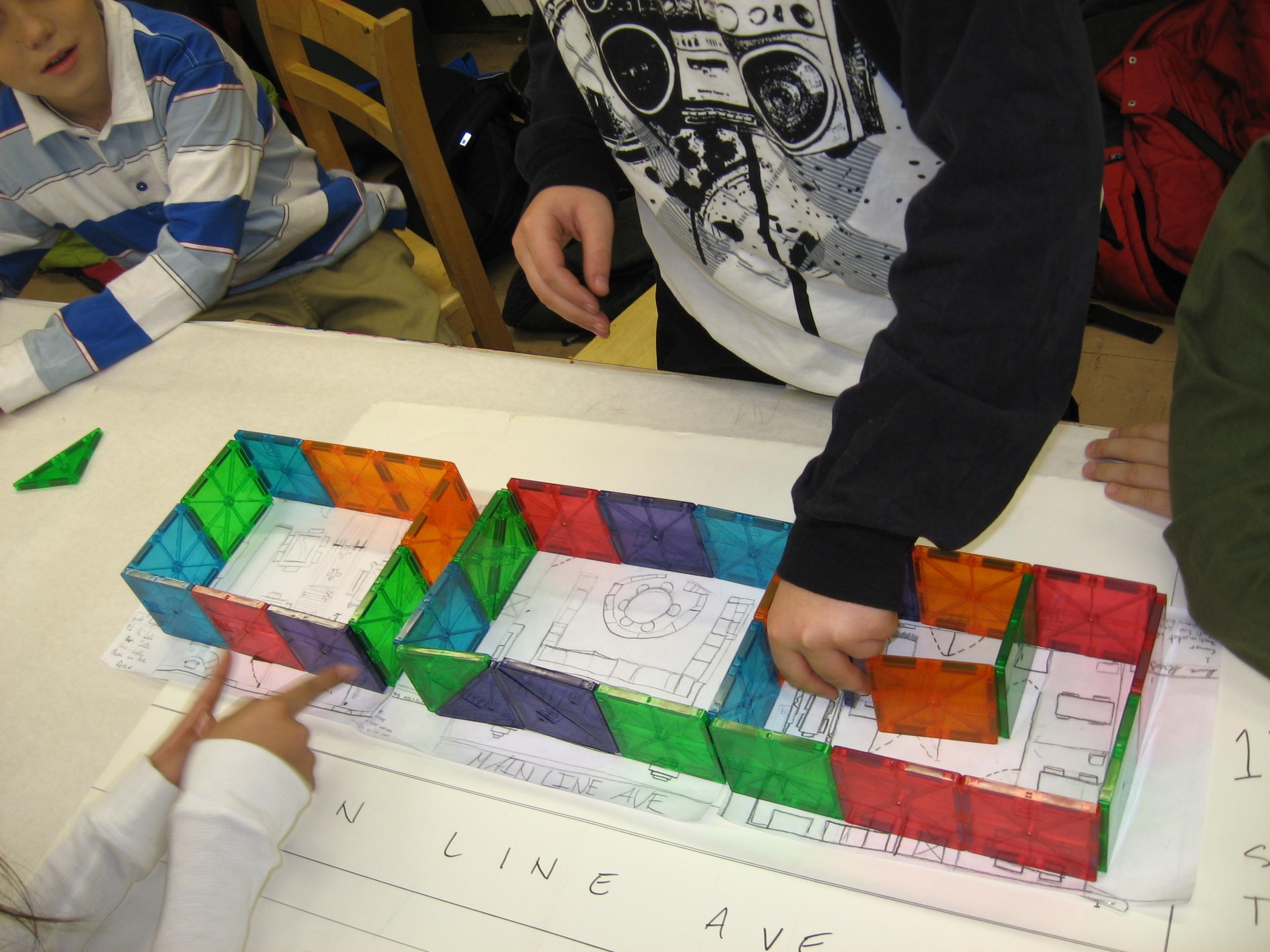 Architots enrichment program students.