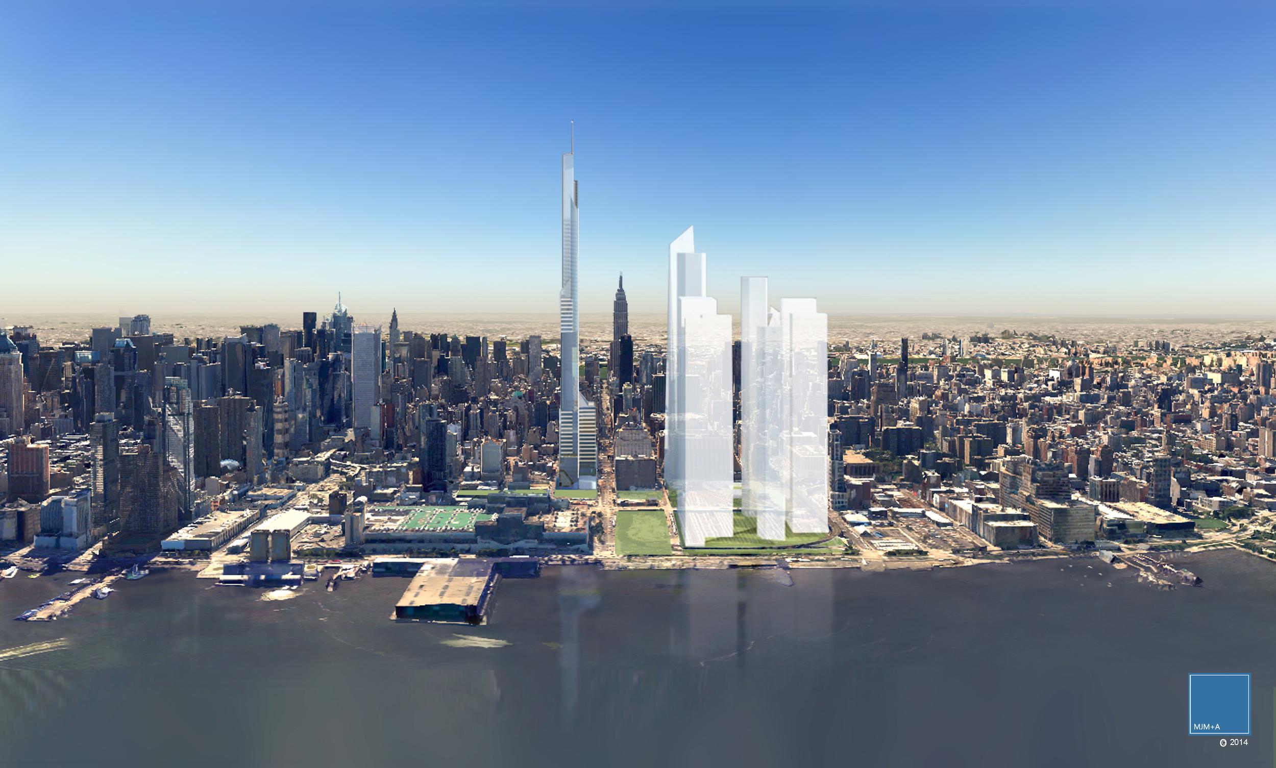 The Hudson Spire, Hudson Yards. NYC