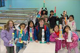 Children in our Architots @ School program.