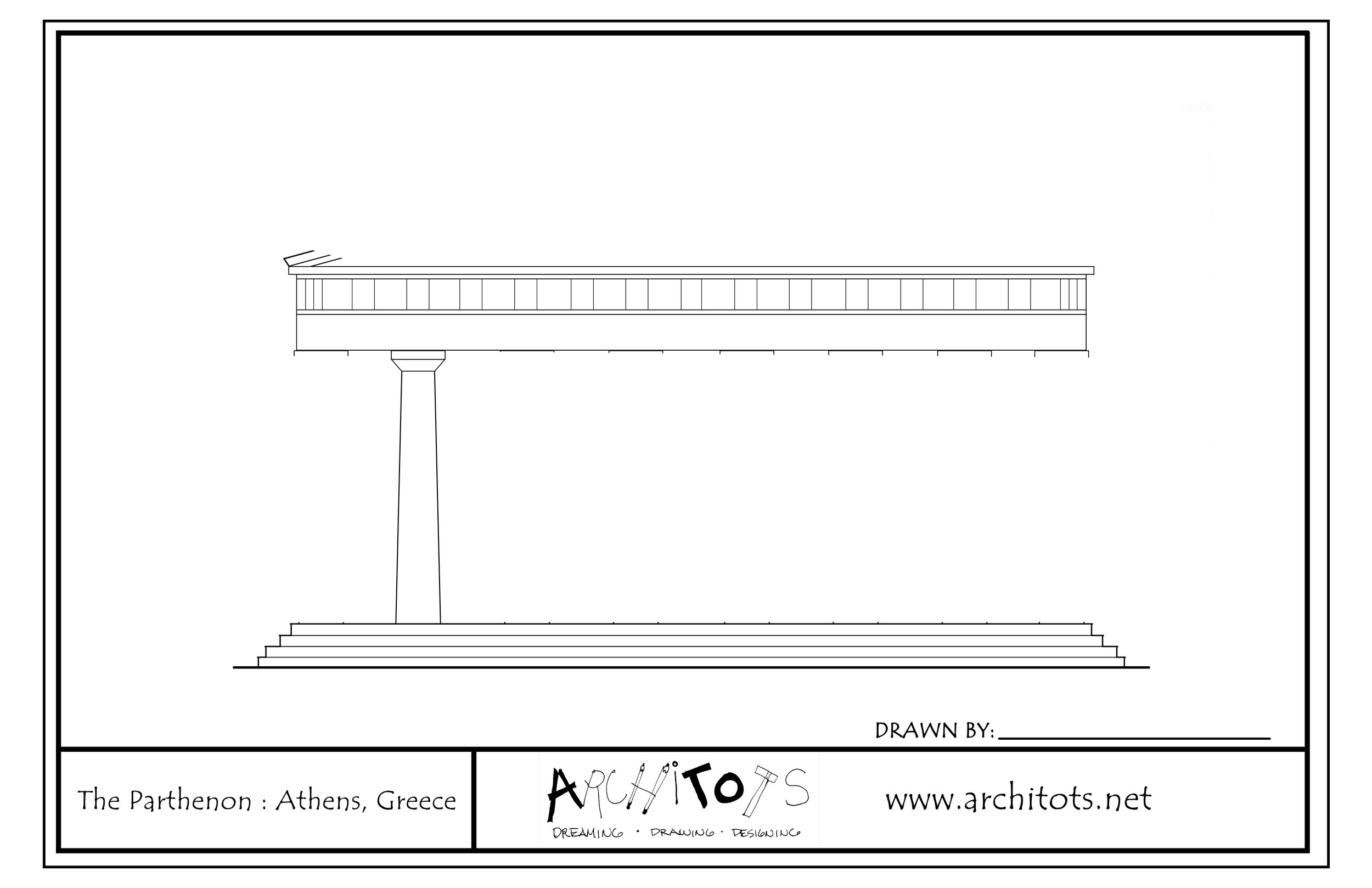 Parthenon blueprint redesign