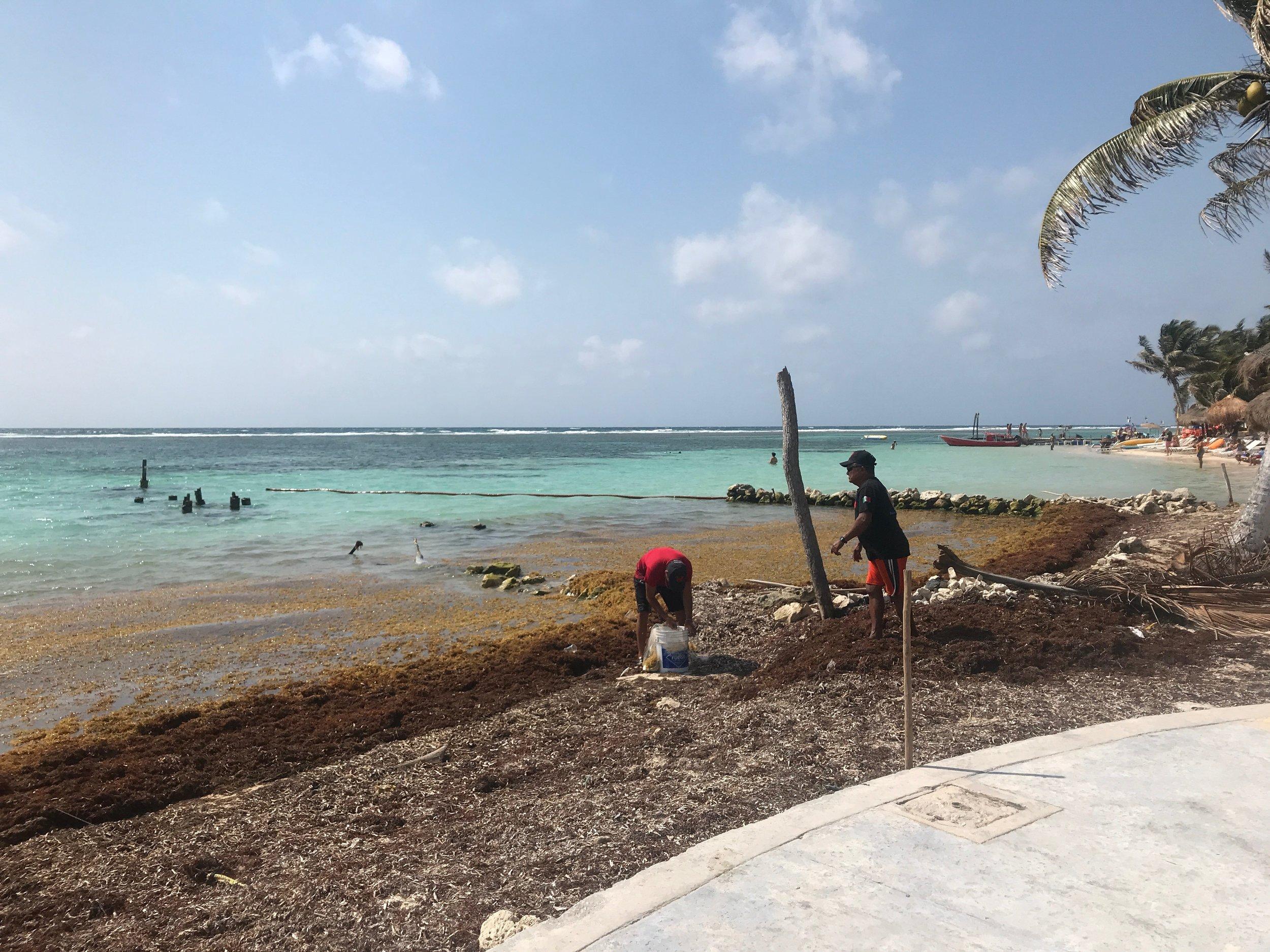 Village fishermen