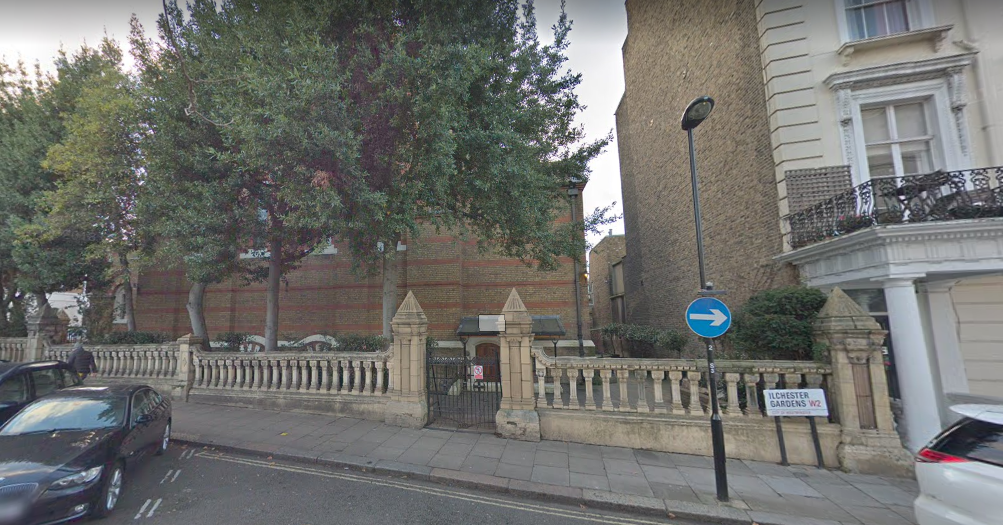 Please use the illchester gardens entrance as pictured above.