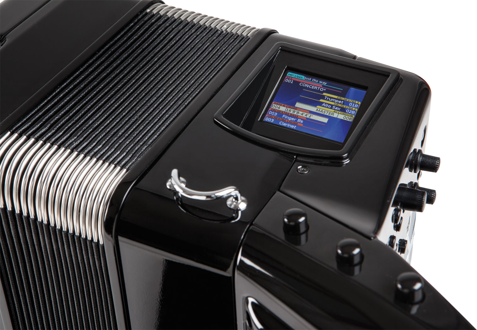 Roland FR-8x user display