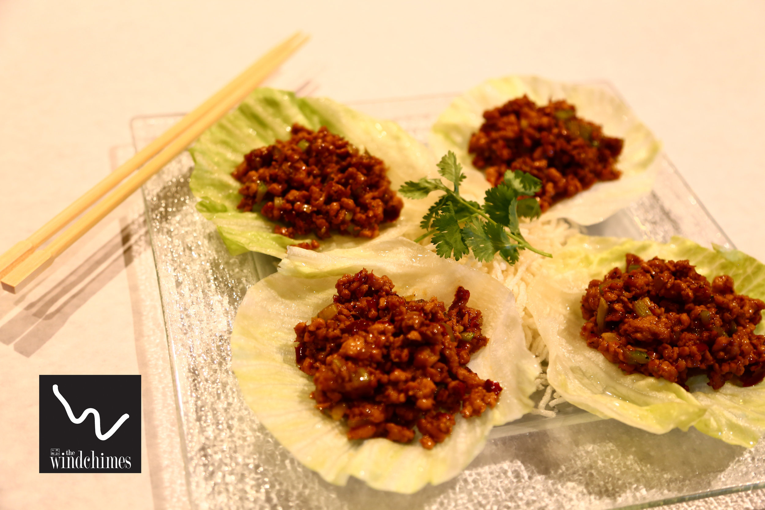 Chicken Lettuce Wraps meant to be shared!