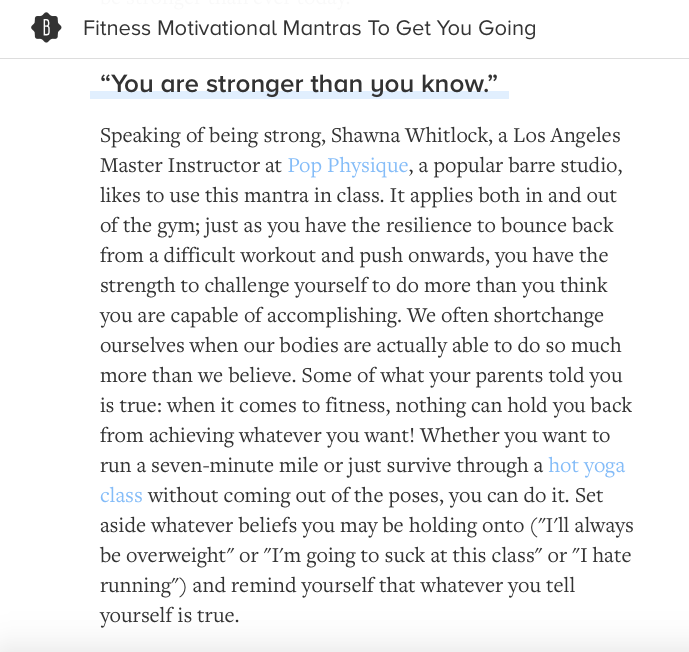 5 Mantras that will make you work harder, no matter how lazy you feel... BUSTLE.COM