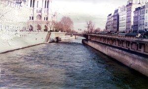 paris - aged 35mm photograph