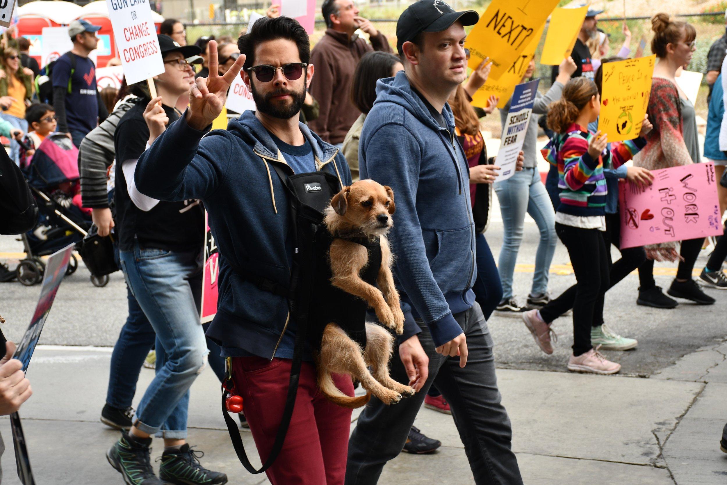 march for our lives LA, 2018
