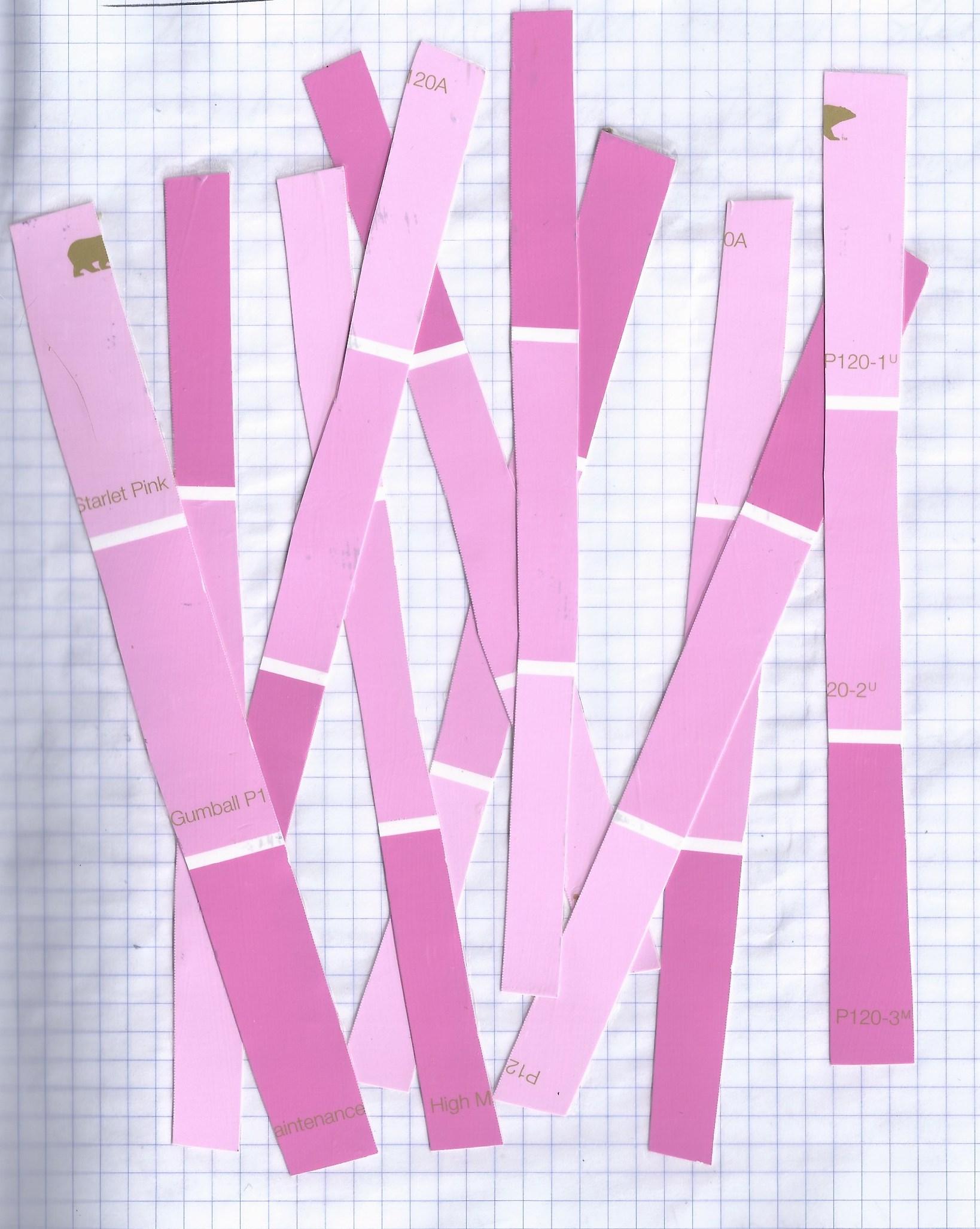 day 8 - pink sticks