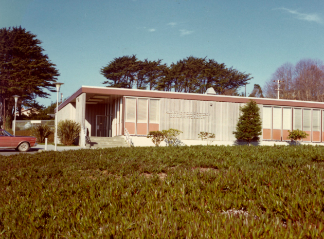 Late 1960s/early 1970s, before the expansion. Photo: HSU.