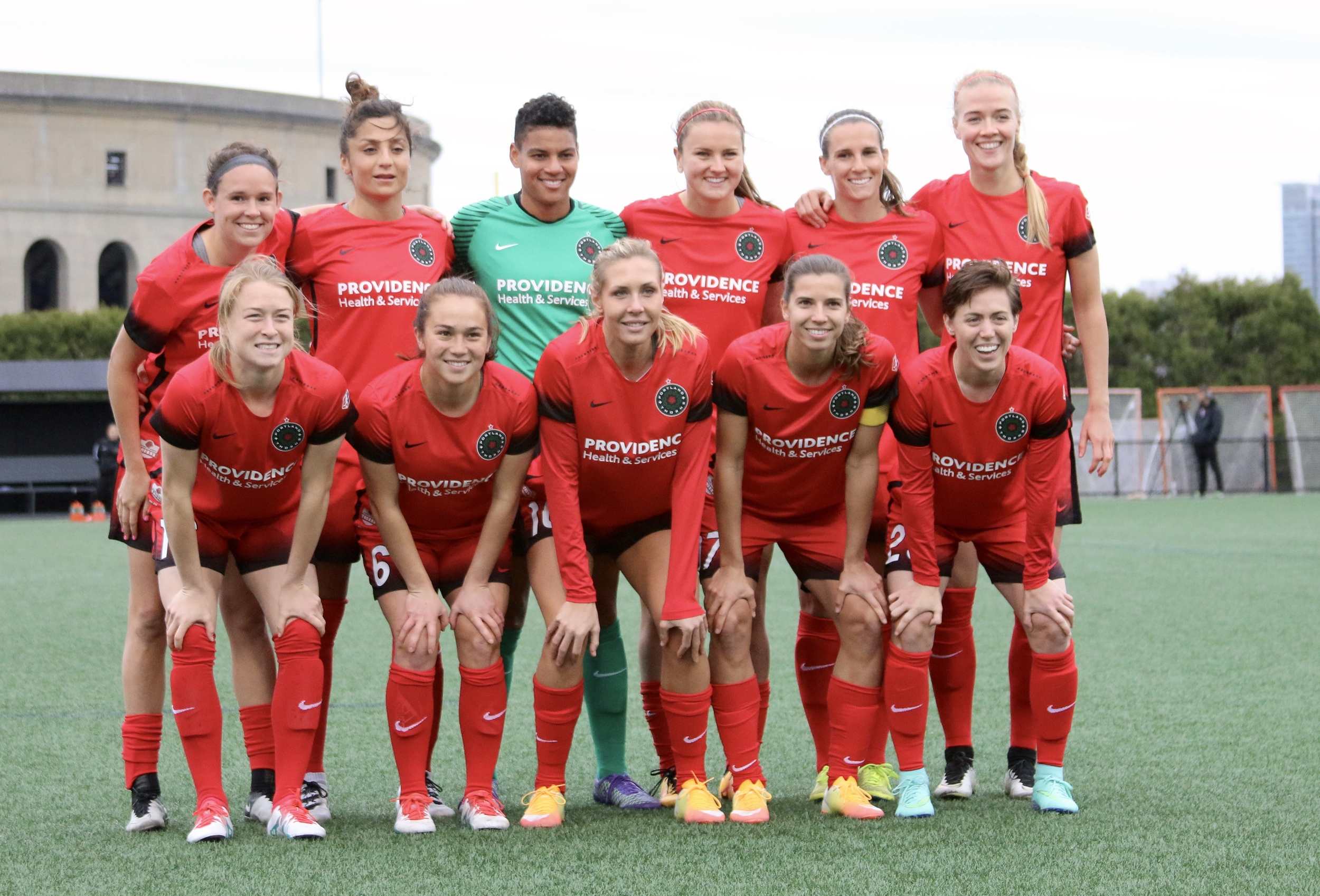 this team would beat all but one or two international sides, and Amandine henry and Christine sinclair aren't even available yet.