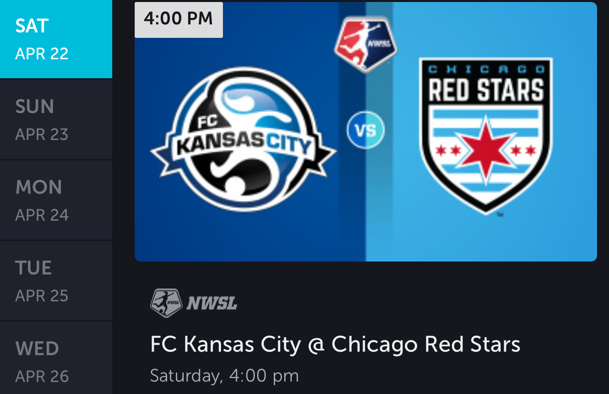 Click in your app for a one-way trip to Chicago.