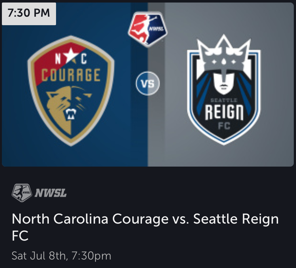 Are you going to tell Megan Rapinoe there's no chance?