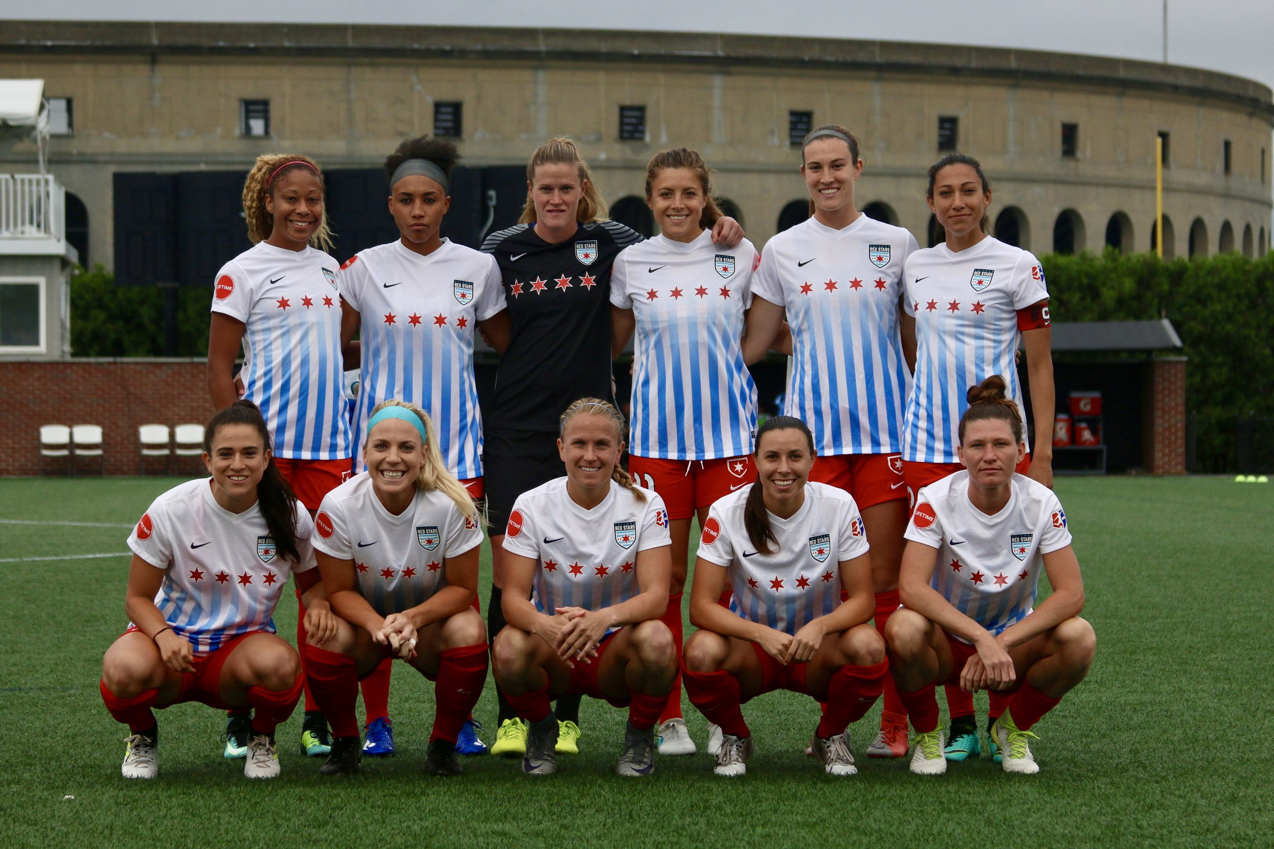 Unlike in this picture, the Red Stars will be at home this afternoon. Where they thrive.