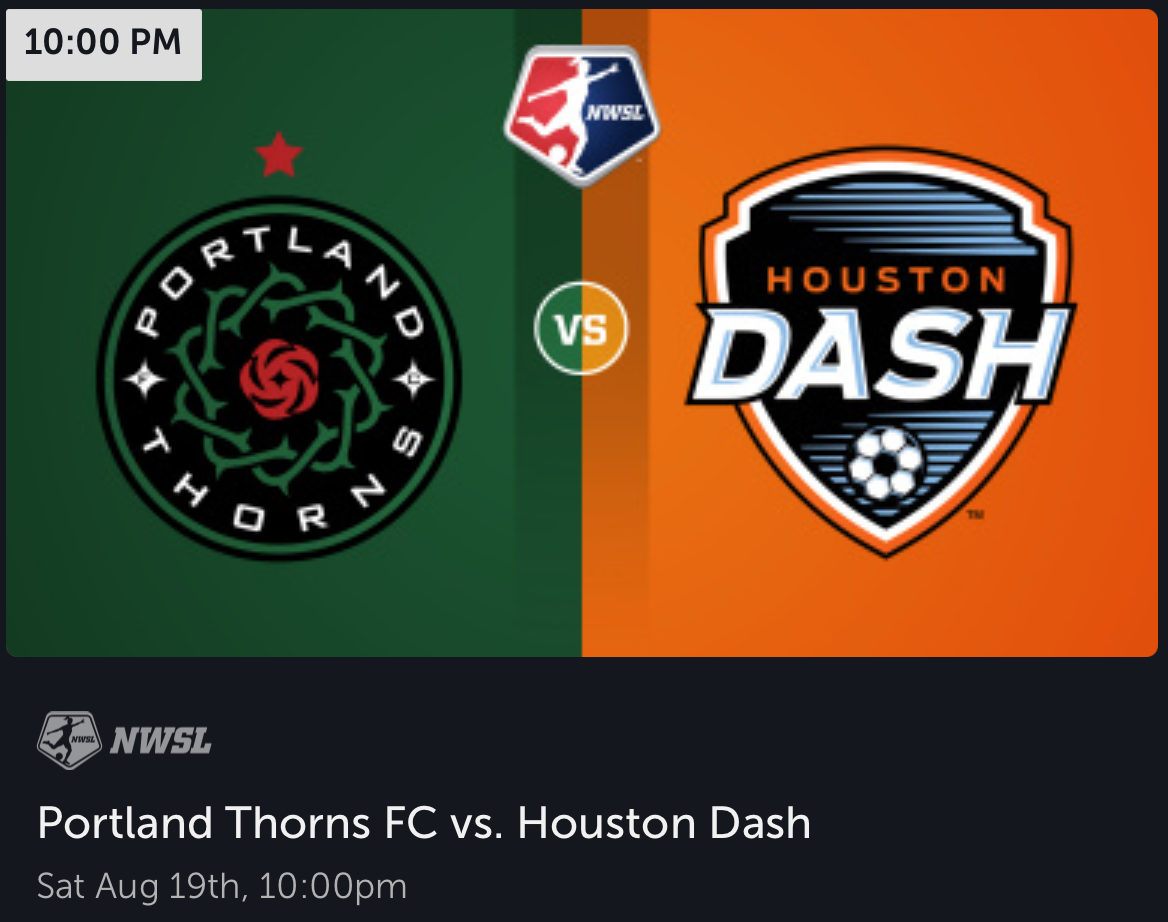 Surely Portland won't let the Dash take points at Providence Park?