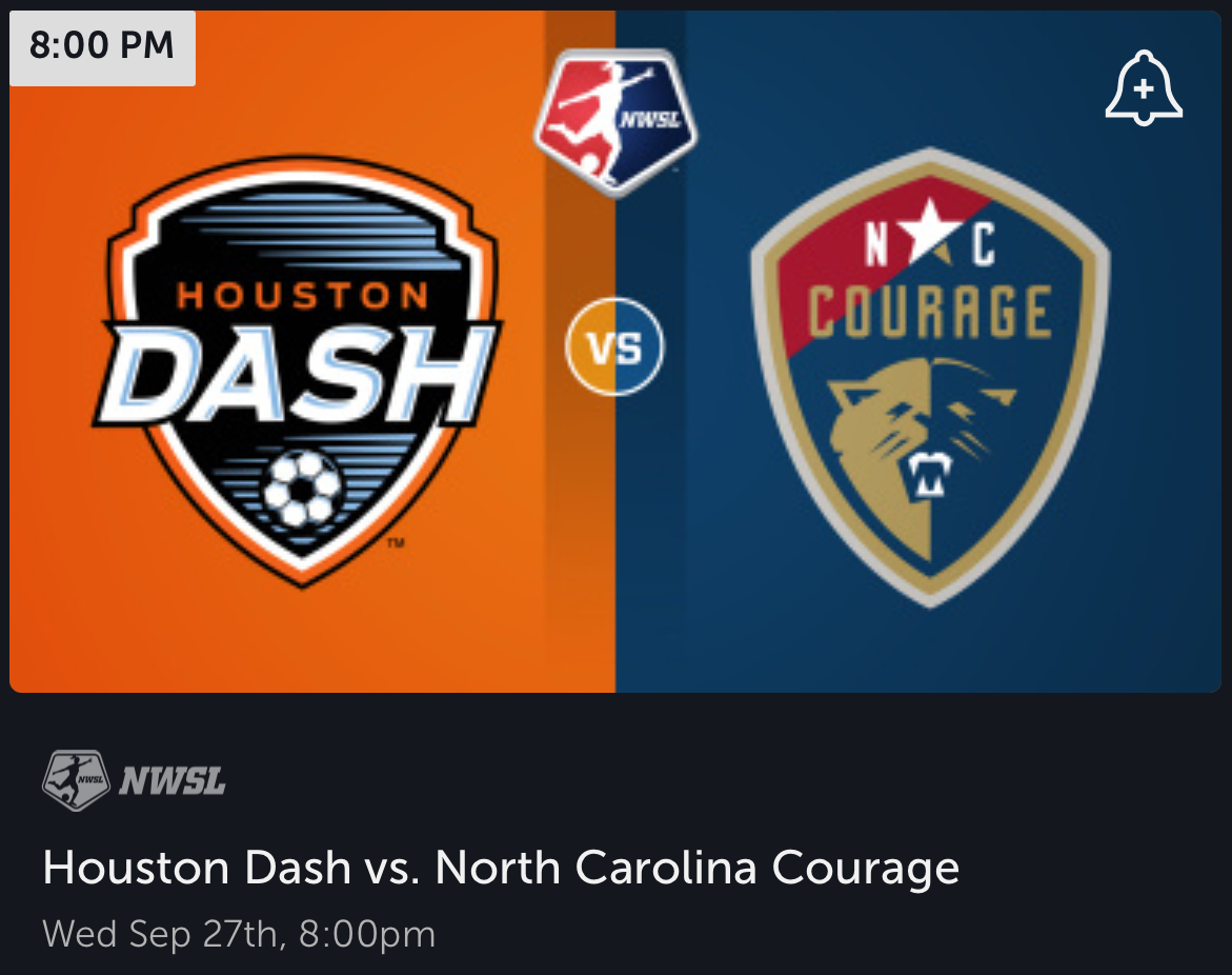 The Tour-de-Texas continues for the Dash and their guests