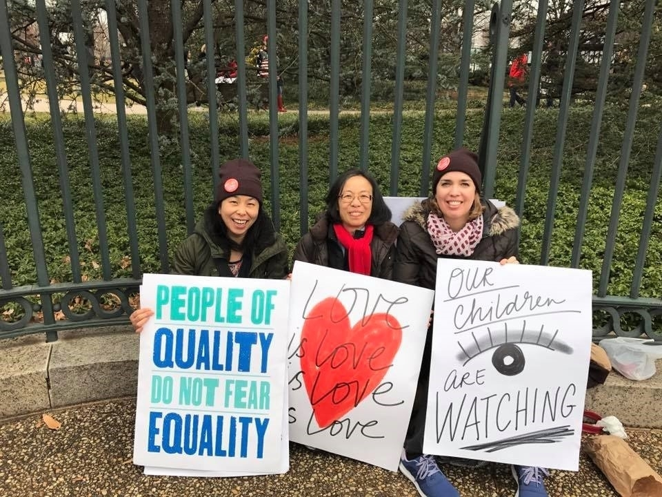Women's March in DC - Jan 21, 2017                        More footage on  Facebook