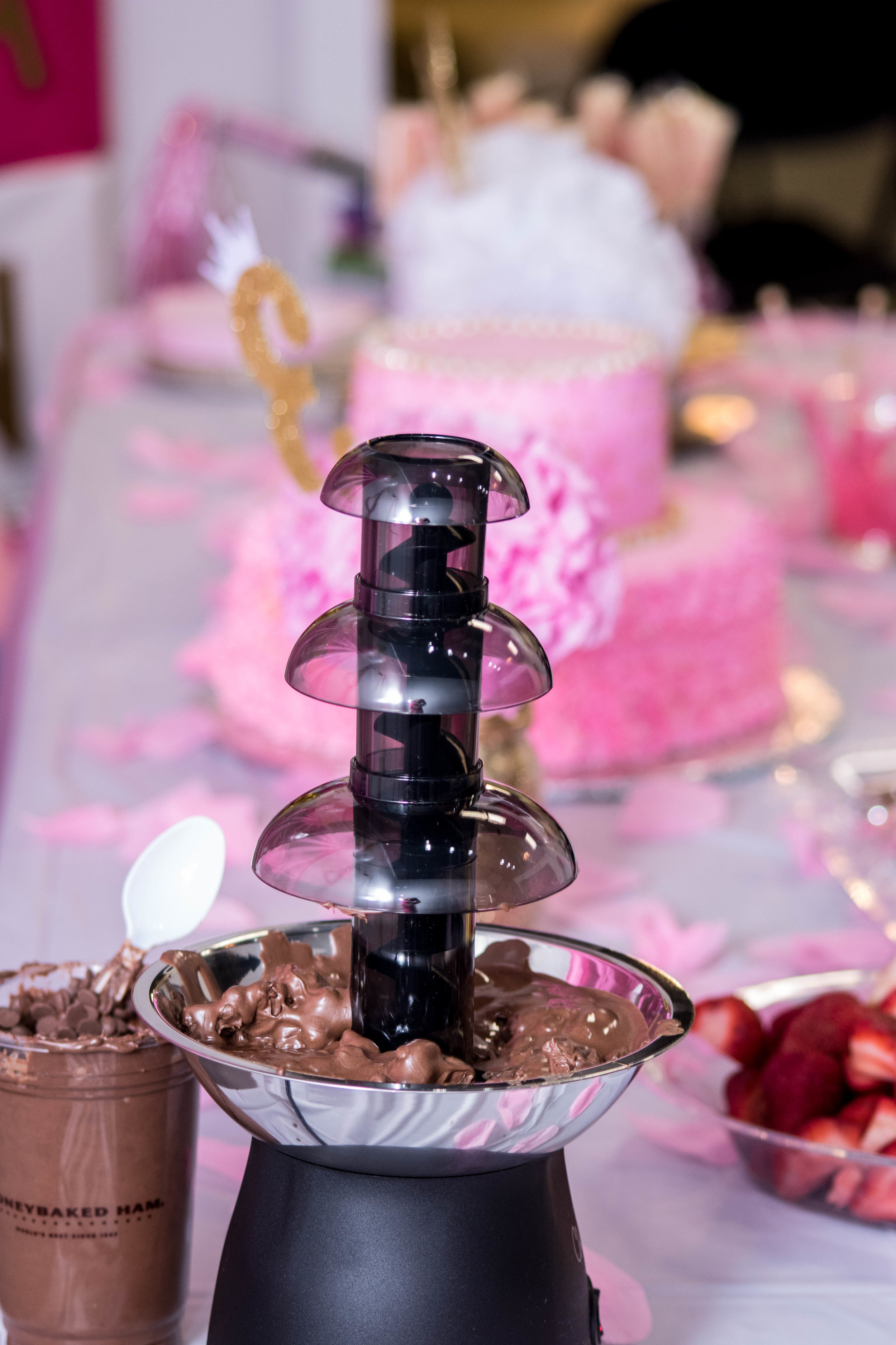 Setting Up for Princess Party -