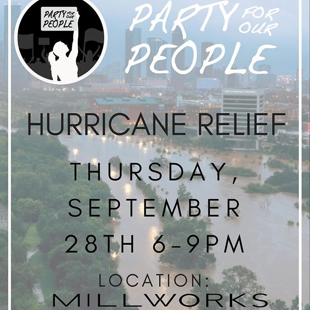 "Hurricane Relief Fundraising Event happening this Thursday at @sbmillworks! The Direct Relief Foundation will be taking any donations prior to the event to support those recently effected by all the destruction. If you'd like to get involved, follow the link in our bio 🙂 . . ""If we all give a little, it can add up to a lot!"" Snacks and drinks will be provided courtesy of @potekwinery, @wildwoodkitchensb and @thirdwindowbrewing"