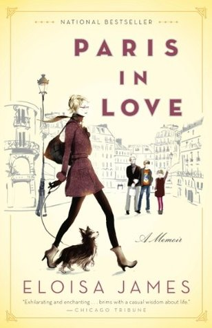 Paris In Love by Eloisa James - We spent basically 14 seconds in Paris when we were traveling Europe last year, and I've been trying to make up for it in the pages of books ever since. This memoir by Eloisa James is a set of Parisian vignettes, with a few longer essays in between.
