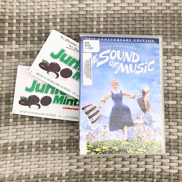 "We started a new July 20th tradition last year...my mom's favorite movie (Sound of Music) and her favorite movie candy (Junior Mints). Yesterday felt more gentle than the last two July 20th's, in large part because of @baileyjeanrob and @danasabato being here and loving me so well and intentionally, and because for better or for worse, I've gotten used to being a girl with a dead mom.⁣ ⁣ In the small hours of the morning Hans whispered, ""this was the day that changed everything,"" which, whew, is an understatement coming from the man who has walked beside me with fierce faithfulness through these last three years. I am grateful beyond grateful for his anchoring presence, for his fearless love, for the safe harbor he gives my soul.⁣ ⁣ It's true, you know. The ones we love never really leave us. My mom is not on this side of heaven anymore, but the love she gave her people still resides in all of us, as much a part of us as our blood and bones. She left me her eyes and her smile, her wedding china and her emerald necklace, her love of hospitality and her love of planning trips. She brought me through the first 24 years of my life and I'm so thankful for the time I did have with her, but I was hoping for at least 24 more."